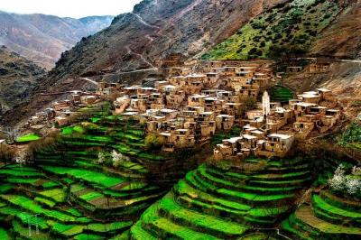 High Atlas Mountains Berber villages and 4 Valleys Day Trip from Marrakech